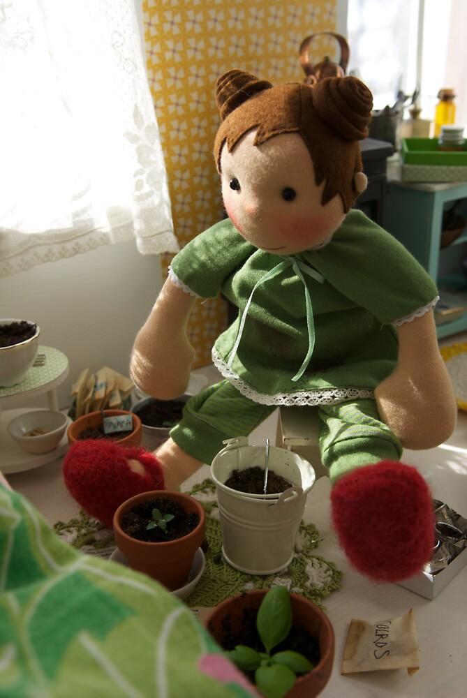 Kiki is preparing for Spring by frokenskicklig