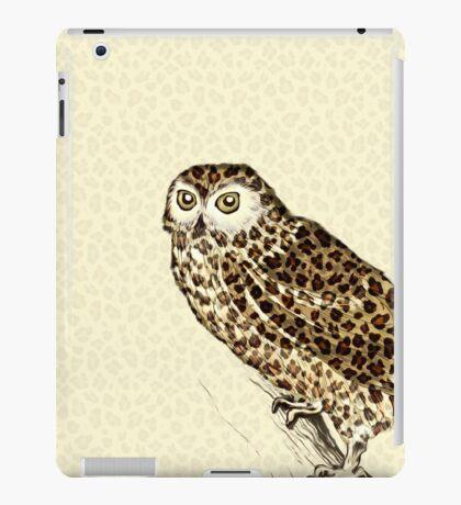 The Jaguar Owl iPad Case/Skin