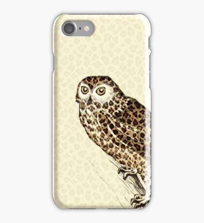 The Jaguar Owl iPhone Case/Skin