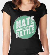 NateWantsToBattle Circle Tee Women's Fitted Scoop T-Shirt