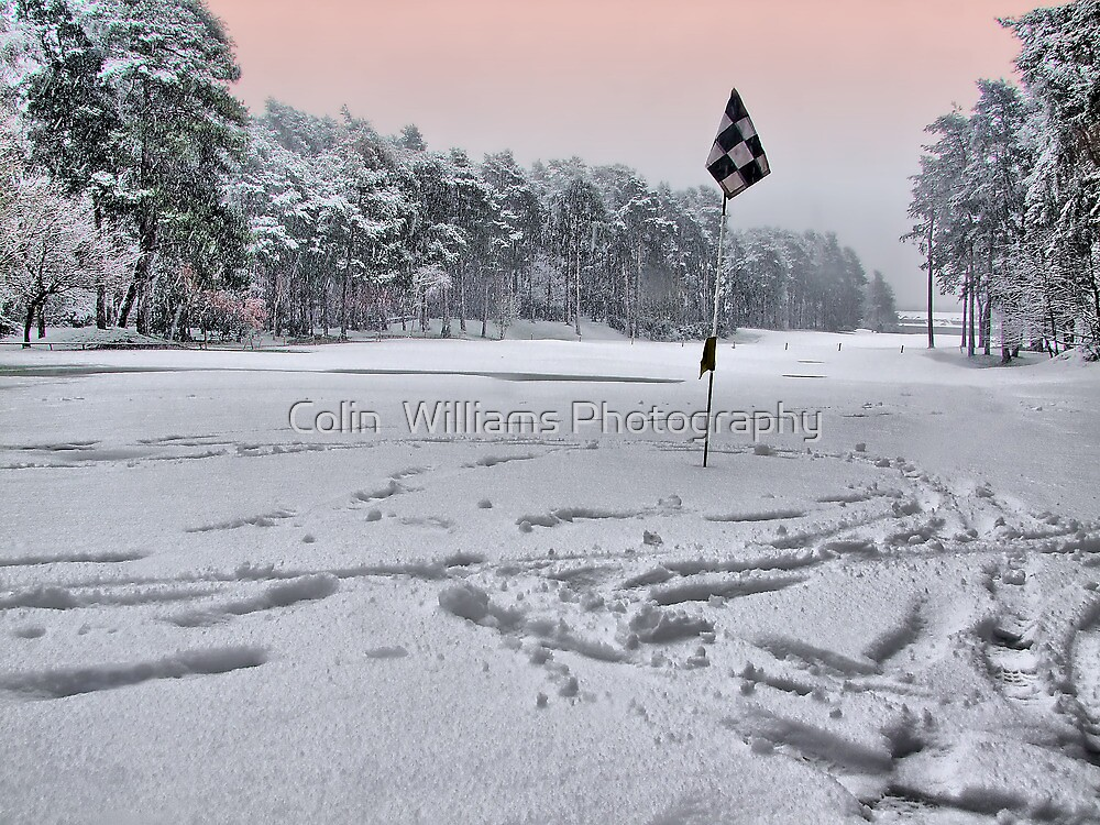 Noo Golf Today !!! - HDR by Colin  Williams Photography