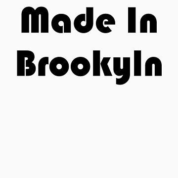 Simon's Made in Brooklyn Tee (black) by TMIcommittee