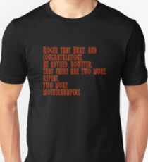 Tremors - Roger That Burt And Congratulations... T-Shirt