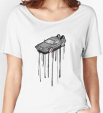 Delorean Drip Women's Relaxed Fit T-Shirt