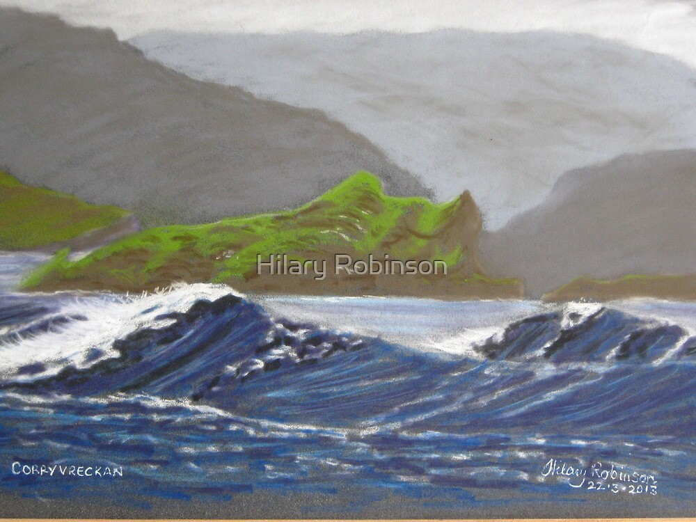 Corryvreckan by Hilary Robinson