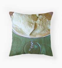 Green Grasshopper Throw Pillow