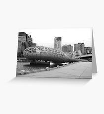Webb bridge docklands Greeting Card