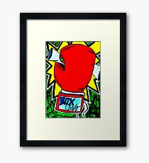 Boxing Clever Framed Print