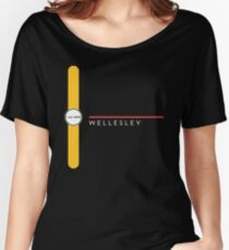 Wellesley station Women's Relaxed Fit T-Shirt