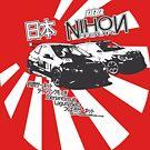 Nihon Tour Series Official T-Shirt - dark by RlyRbshRacing