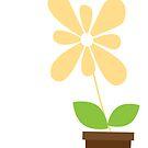 Spring Daisy by sweettoothliz