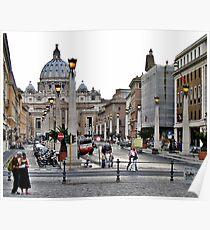 Basilika St. Peter / Rome Poster