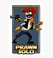 Prawn Solo Photographic Print