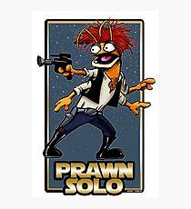 Prawn Solo Photographic Print