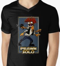 Prawn Solo Men's V-Neck T-Shirt