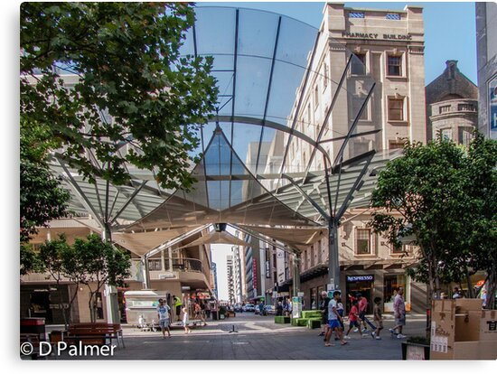 Rundle Mall - The Real centre of the Mall by DPalmer
