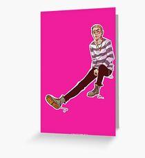 Punk!John Greeting Card