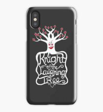 Knight of the Laughing Tree iPhone Case/Skin
