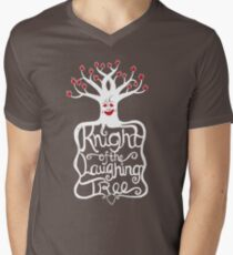 Knight of the Laughing Tree Men's V-Neck T-Shirt