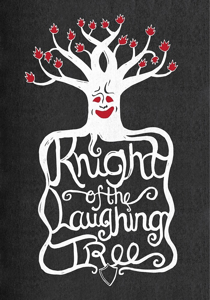 Knight of the Laughing Tree by JenSnow