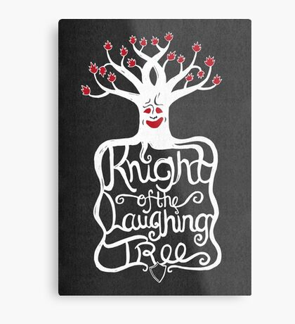 Knight of the Laughing Tree Metal Print