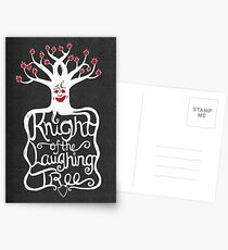 Knight of the Laughing Tree Postcards