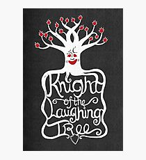 Knight of the Laughing Tree Photographic Print