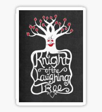 Knight of the Laughing Tree Sticker