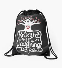 Knight of the Laughing Tree Drawstring Bag
