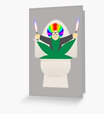 I Love You, Drugs! Greeting Card