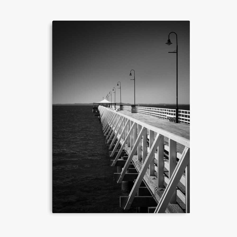 Shorncliffe Pier Canvas Print