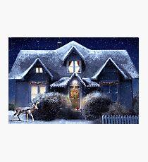 Quiet Winter Night Photographic Print