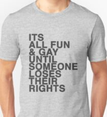 Fighting for your rights Unisex T-Shirt