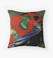 Flying Opal Throw Pillow