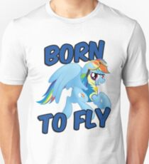 Born to Fly Shirt (Version 3) Unisex T-Shirt