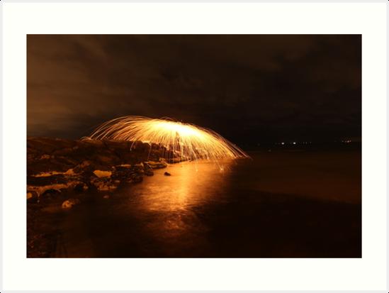 Experimental sparkles (horizontal) by myebra