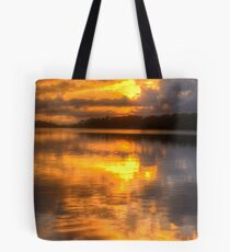Brooding Morn - Narrabeen Lakes Sydney Australia (Vertical Crop) - The HDR Experience Tote Bag