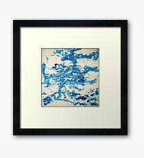 Blue Bottle Huddle Framed Print