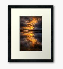 Daybreak - Narrabeen Lakes Sydney Australia  - The HDR Experience Framed Print
