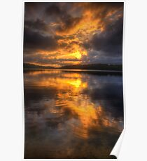 Daybreak - Narrabeen Lakes Sydney Australia  - The HDR Experience Poster