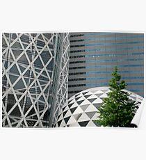 Office Buildings in Tokyo Poster