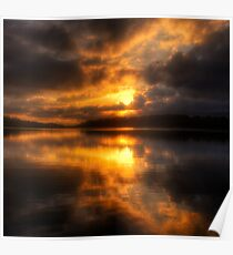 Smoulder - Narrabeen Lakes Sydney Australia  - The HDR Experience Poster