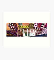 Tenex Building Art Print