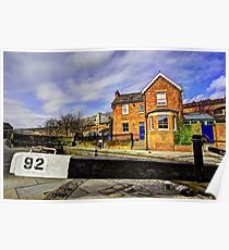 Lock Keepers Cottage Poster