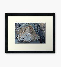 Tumbled tracery Framed Print