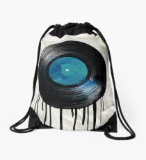 vinyl drip Drawstring Bag