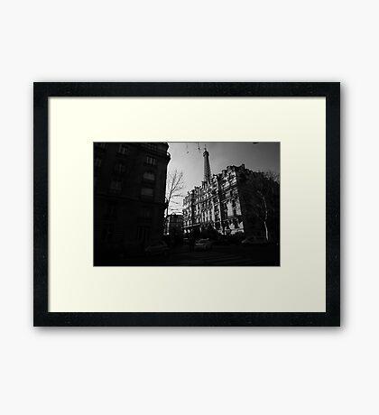 Paris Highlights and Shadows Framed Print