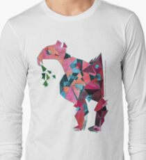 Flamingo Before Weekend Long Sleeve T-Shirt