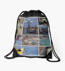 Venice Italy Drawstring Bag