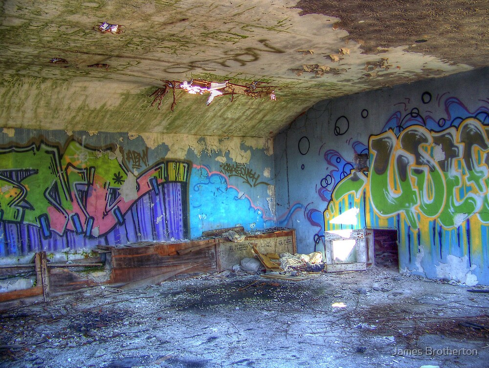 Colorful Walls by James Brotherton